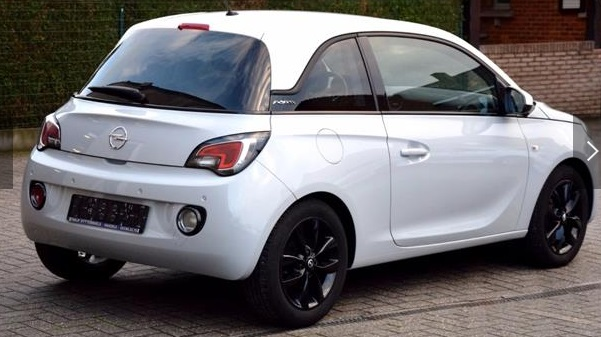 OPEL ADAM (01/2016) - GREY METALLIC - lieu: