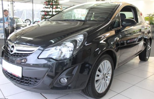 OPEL CORSA (01/2015) - BLACK METALLIC - lieu: