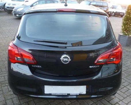 OPEL CORSA (11/2015) - BLACK METALLIC - lieu: