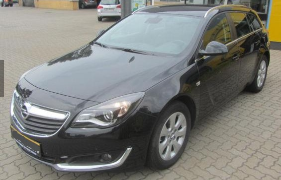 Left hand drive OPEL INSIGNIA 1.6 CDTI ST AT/Navi/PDC/Sicht-Paket/17