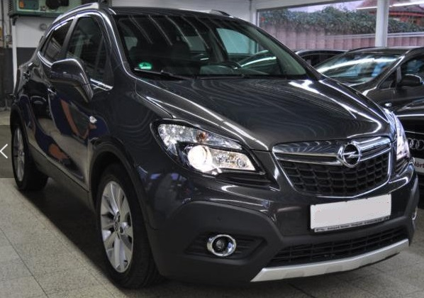 OPEL MOKKA (10/2015) - GREY METALLIC - lieu: