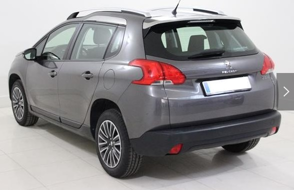 PEUGEOT 2008 (04/2015) - GREY METALLIC - lieu: