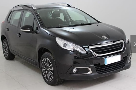 PEUGEOT 2008 (04/2015) - BLACK METALLIC - lieu: