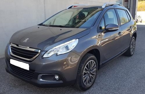 lhd PEUGEOT 2008 (01/2016) - GREY METALLIC - lieu: