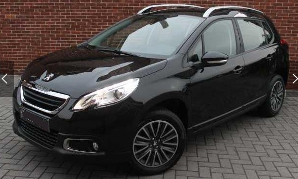 PEUGEOT 2008 (05/2015) - BLACK METALLIC - lieu: