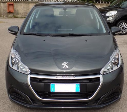 lhd PEUGEOT 208 (02/2016) - GREY METALLIC - lieu: