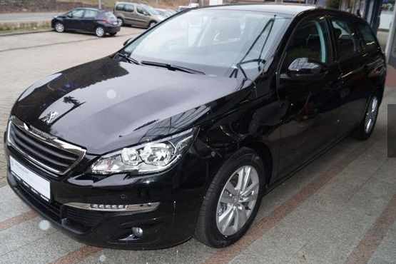 PEUGEOT 308 (05/2016) - BLACK METALLIC - lieu: