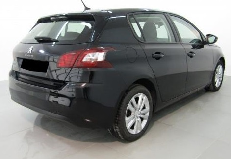 PEUGEOT 308 (01/2015) - BLACK METALLIC - lieu: