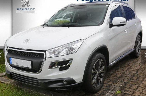 PEUGEOT 4008 (01/2016) - WHITE METALLIC - lieu: