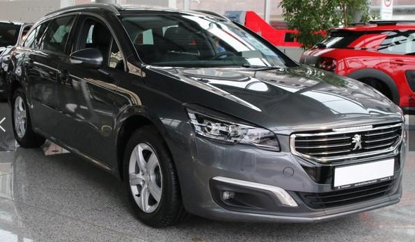 Left hand drive PEUGEOT 508 SW Active HDi 160 Winterr�der+TOMTOM Navi