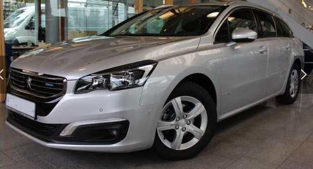 Left hand drive PEUGEOT 508 SW BlueHDi 120 EAT6 StopStart Business-Line