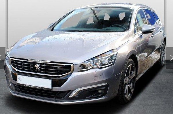 PEUGEOT 508 (01/2015) - GREY METALLIC - lieu:
