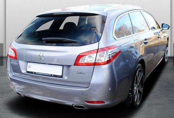 Lhd PEUGEOT 508 (01/2015) - GREY METALLIC - lieu: