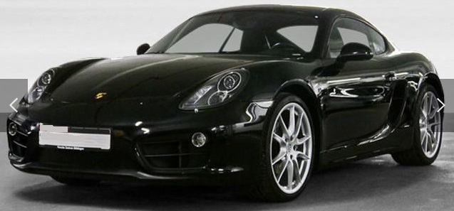 PORSCHE CAYMAN (06/2015) - BLACK METALLIC - lieu: