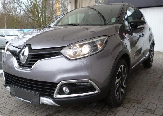 lhd RENAULT CAPTURE (07/2015) - GREY METALLIC - lieu: