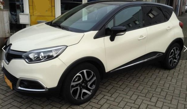 lhd RENAULT CAPTURE (05/2015) - WHITE - lieu: