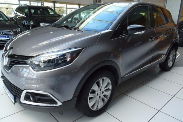 lhd RENAULT CAPTURE (12/2015) - GREY METALLIC - lieu: