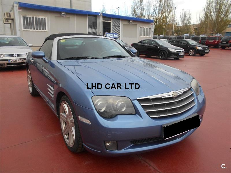 CHRYSLER CROSSFIRE 3.2 CABRIOLET SPANISH REG