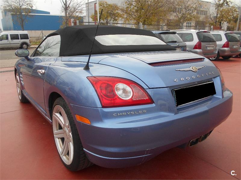 Left hand drive CHRYSLER CROSSFIRE 3.2 CABRIOLET SPANISH REG