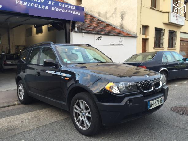 Left hand drive BMW X3 2.5 LUXURY FRENCH REG