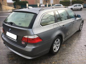 lhd car BMW 5 SERIES (07/2009) - GREY - lieu:
