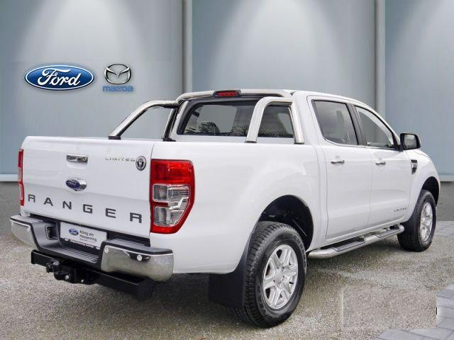 lhd car FORD RANGER (12/2015) - WHITE - lieu: