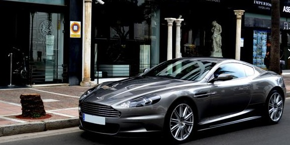 Left hand drive ASTON MARTIN DBS V12 COUPE (NO VAT)