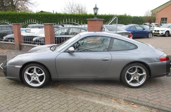 PORSCHE 911 996 (07/2003) - GREY METALLIC - lieu: