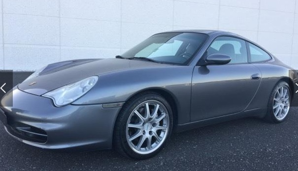 Left hand drive PORSCHE 911 996 CARRERA 4 COUPE