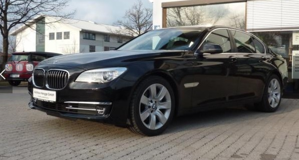 Left hand drive BMW 7 SERIES 730D