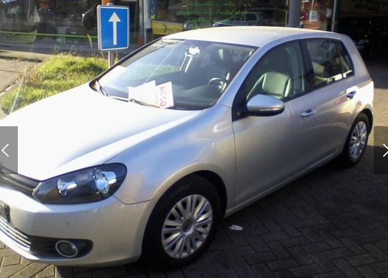Left hand drive VOLKSWAGEN GOLF 1.6 CR TDi BLUEMOTION