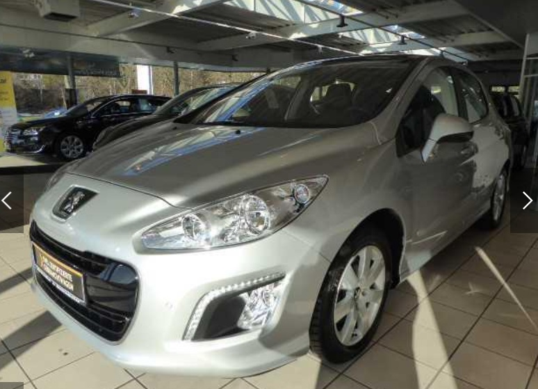 Left hand drive PEUGEOT 308 155 THP AutomatiC Allure