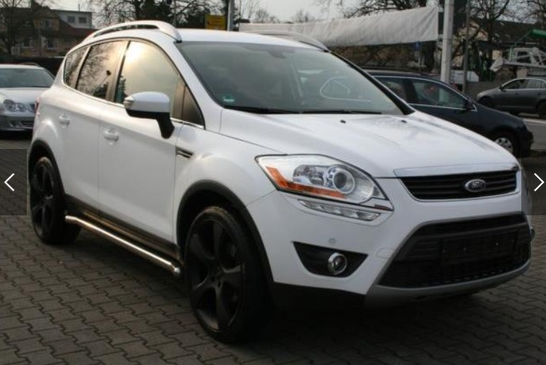 FORD KUGA (02/2012) - WHITE - lieu: