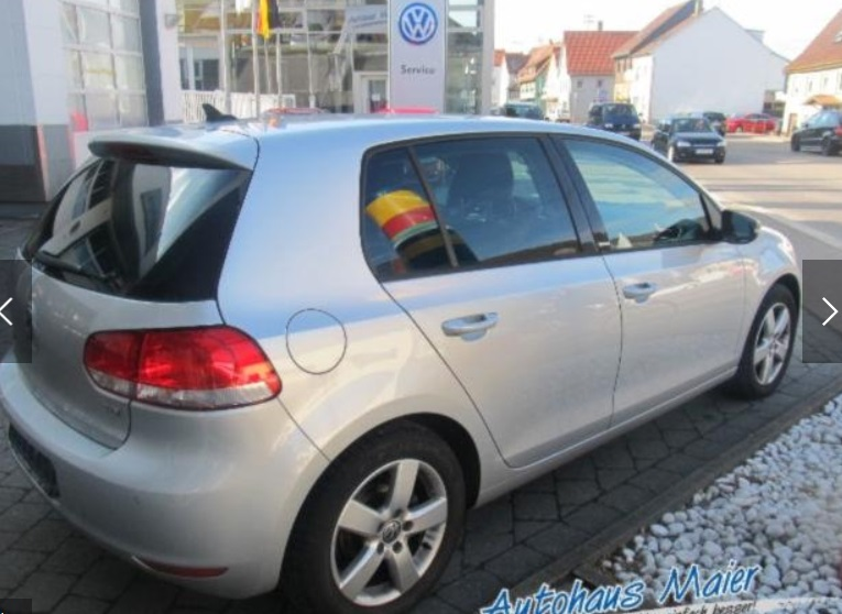 VOLKSWAGEN GOLF (10/2011) - SILVER METALLIC