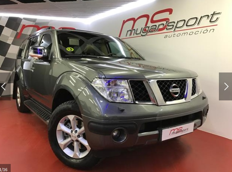 Left hand drive NISSAN PATHFINDER 2.5 DCI XE 7 SEATS SPANISH REGISTERED