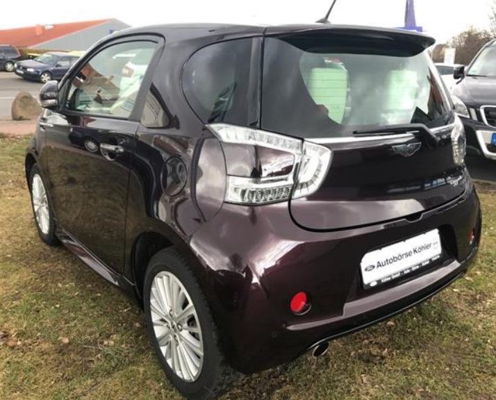 lhd car ASTON MARTIN CYGNET (12/2011) - DEEP RED METALLIC - lieu: