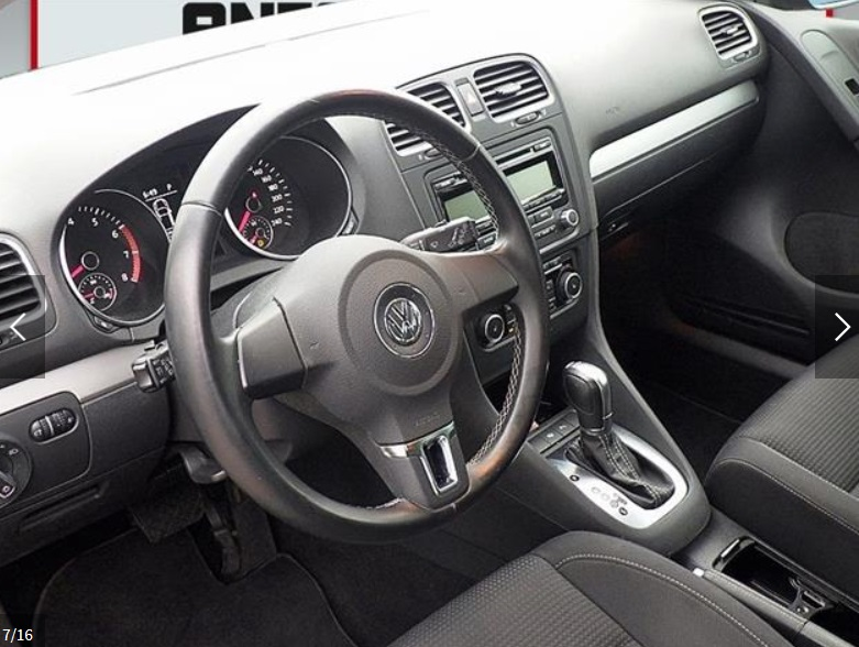 VOLKSWAGEN GOLF (03/2011) - DARK BLUE METALLIC - lieu: