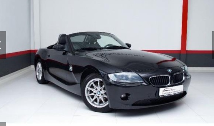 Left hand drive BMW Z4 Z4 Roadster 2.0i