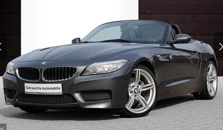 lhd BMW Z4 (07/2013) - GREY METALLIC - lieu: