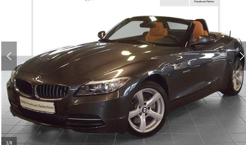 Left hand drive BMW Z4 sDrive28i