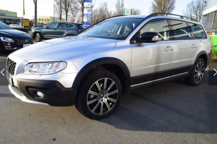 VOLVO XC 70 D5 AWD Geartronic Black Edition