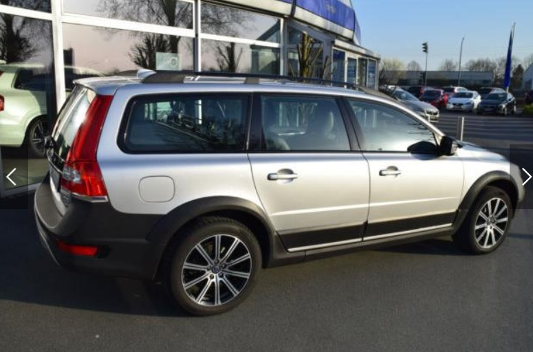 Left hand drive VOLVO XC 70 D5 AWD Geartronic Black Edition
