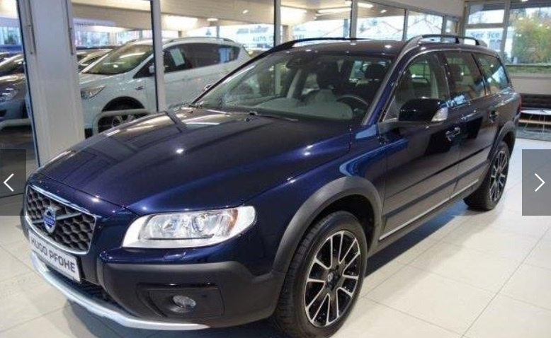 VOLVO XC 70 (01/2016) - BLUE METALLIC - lieu: