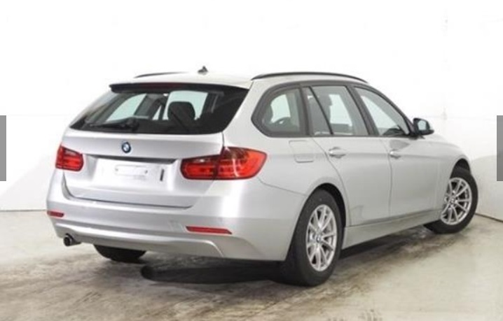 Lhd BMW 3 SERIES (12/2014) - SILVER METALLIC - lieu: