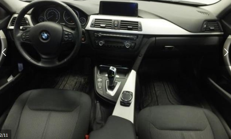Left hand drive BMW 3 SERIES BMW 320 d