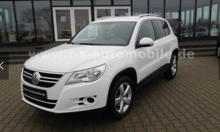 Left hand drive VOLKSWAGEN TIGUAN Sport & Style Blue Motion