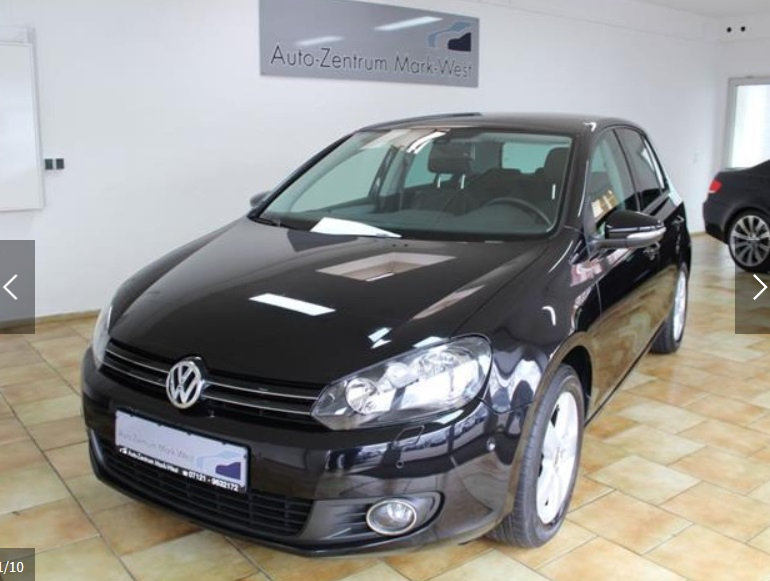 Left hand drive VOLKSWAGEN GOLF 1.4 TSI DSG Team