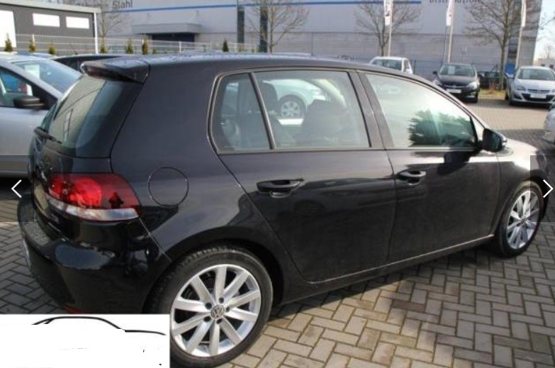 Left hand drive VOLKSWAGEN GOLF 1.4 VI Highline