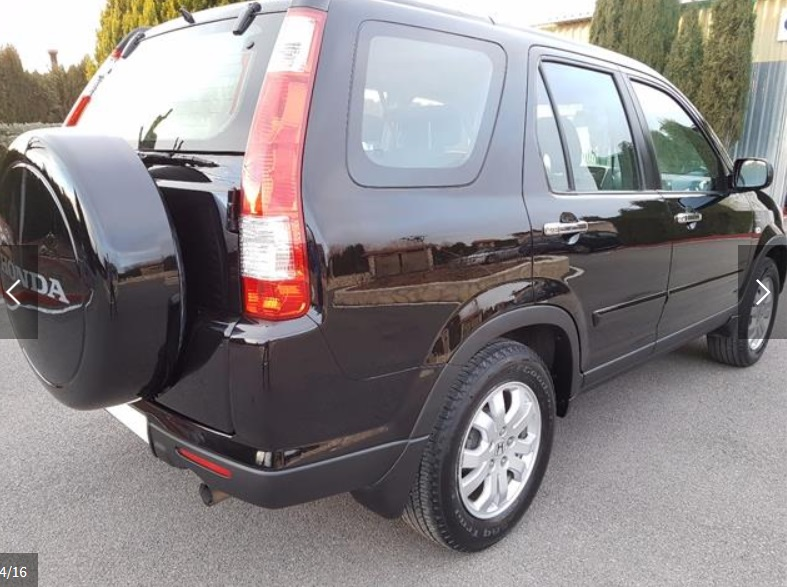 HONDA CR V (03/2006) - BLACK - lieu: