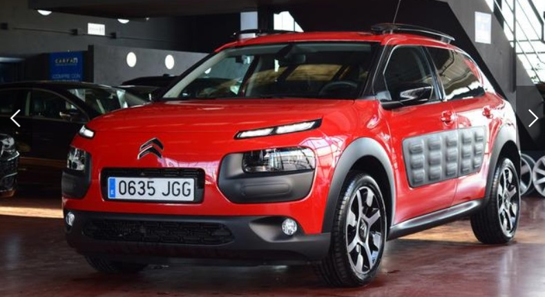 CITROEN C4 CACTUS -HDI 92 ETG6 Shine SPANISH REGISTERED